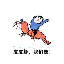 一只有趣的皮皮虾